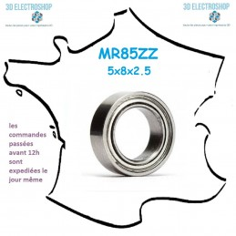 Roulement à billes MR 85 ZZ 5x8x2.5mm générique