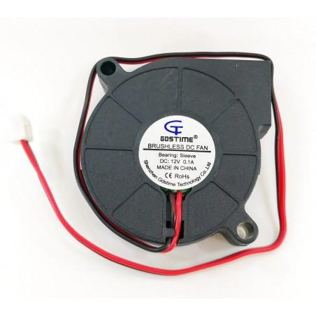 Ventilateur radial à turbine 5015s 12v 0.12A