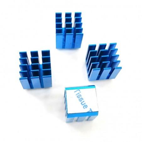Radiateur GDT X9 bleu 9x9x12mm
