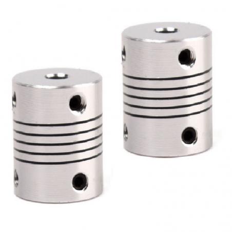 Accouplement 5x8 mm rigide en aluminium X2 3d print coupleur