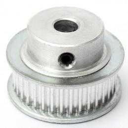 poulie aluminium gt2 36 dents 5mm 3d print,cnc belt pulley