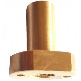 Écrou THSL 8mm pas 2mm long avec méplat