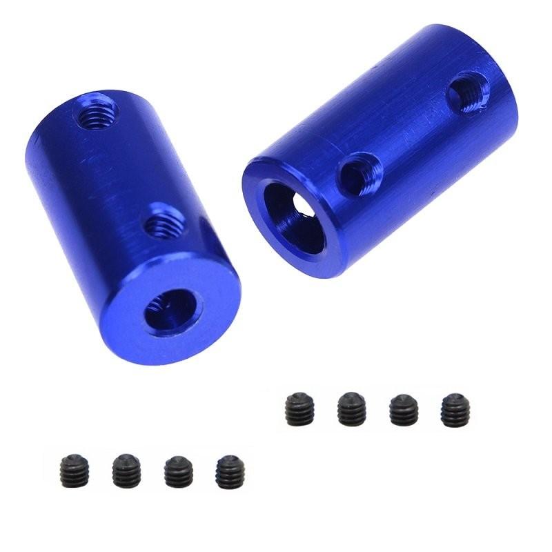 Accouplement 5x8 mm rigide en aluminium X2