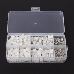 Coffret connecteurs JST PH 2mm Mâle Femelle de 2 à 5 pins