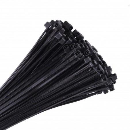 Colliers serre câbles 3x100mm noir 100 PCS