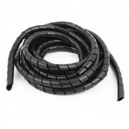 gaine spirale pour faisceaux électrique 3, 5 ou 6mm au mètre