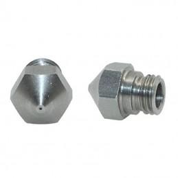 Buse inox M7 pour extrudeur MK10 0.2 0.3 0.4 0.5mm