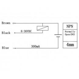 Capteur de proximité inductif LJ12A3-4-Z/BX