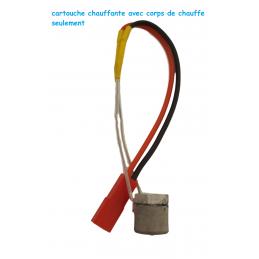 Kit mini corps de chauffe avec résistance céramique 12 ou 24 volts 40W
