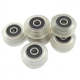 Roulettes en polycarbonate avec roulements 625zz pour CR-10