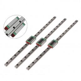 Lot de 3 rails linéaire MGN12H 400mm à billes pour imprimante delta