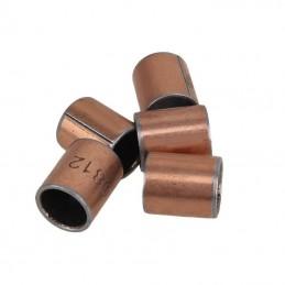 Bagues acier auto-lubrifiées 8x10x12mm