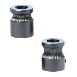 Pignons d'entrainement MK8 1.75 ou 3mm x2