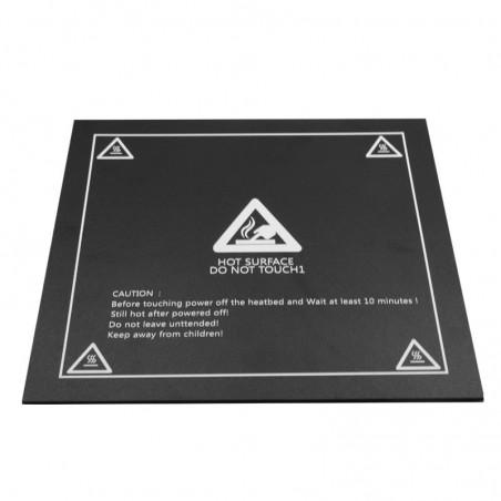 Surface d'accroche magnétique pour plateau 200 x 200mm