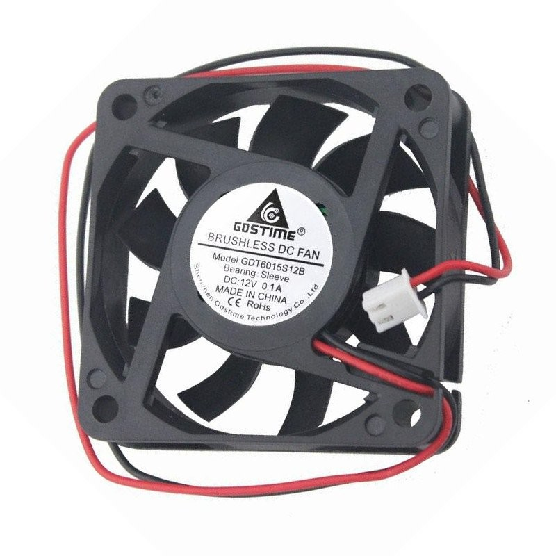 Ventilateur axial 6015 12v 0.1A