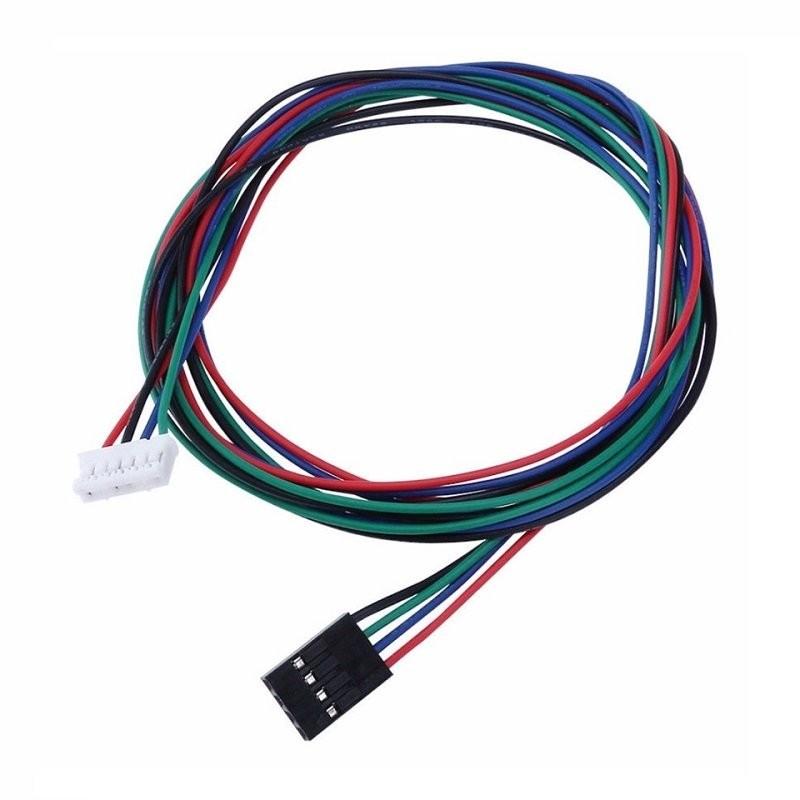 Câble moteur nema PH 6p 2mm - Dupont 4p 1 mètre
