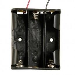 Boitier 3 piles LR6 AA (4.5 volts)