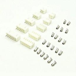 10 connecteurs JST PH 2mm mâle femelle 2,3,4,5 ou 6 Pins