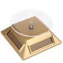 Mini présentoir rotatif solaire or