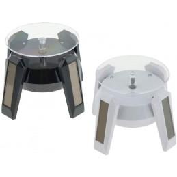 Mini présentoir rotatif solaire