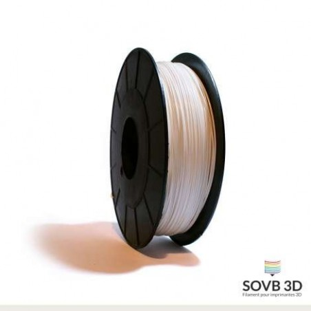 1.75mm SOVB3D PLA Blanc 500g ou 1kg