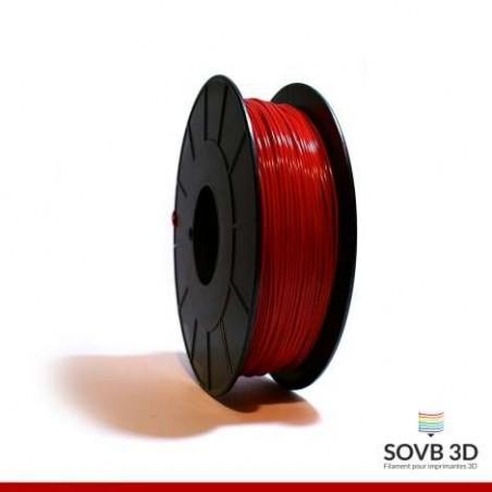 1.75mm SOVB3D PLA Rouge 500g ou 1Kg