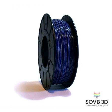 1.75mm SOVB3D PLA Bleu nuit Aluminé 500g ou 1Kg