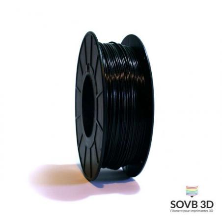1.75mm SOVB3D PLA Noir Aluminé 500g ou 1Kg