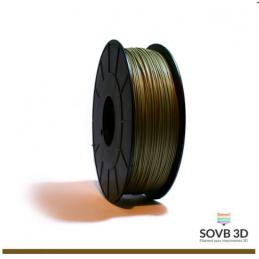 1.75mm SOVB3D PLA Bronze 500g ou 1Kg
