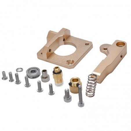 Kit upgrade extrudeur alu champagne pour cr10/10s