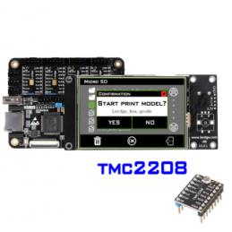 Carte de contrôle Lerdge X avec écran et TMC 2208