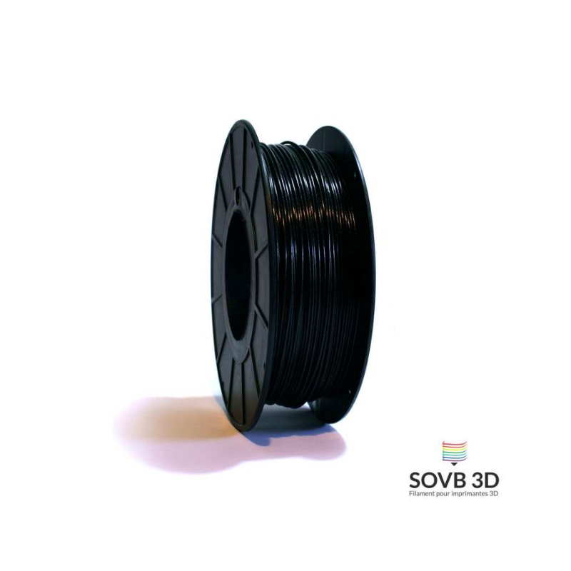 1.75mm SOVB3D PLA Noir aluminé
