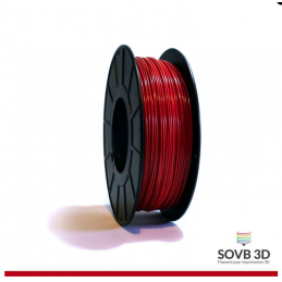 1.75mm SOVB3D PLA Rouge...